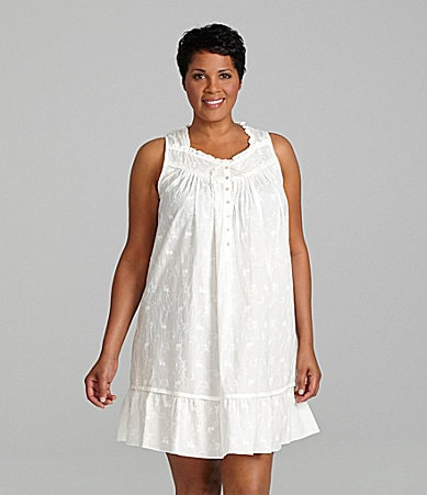 Eileen West Woman Lyrical Cove Short Nightgown
