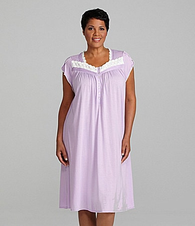 Eileen West Woman Mulberry Dreams Nightgown