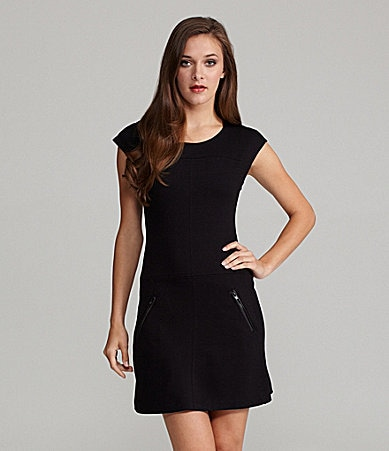 Sanctuary Clothing Ponte Shift Dress