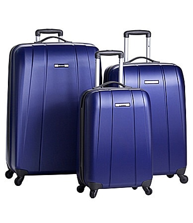 Delsey Helium Shadow Blue Luggage Collection