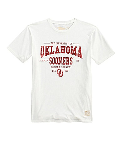 Retro Sport University of Oklahoma Heavyweight Tee