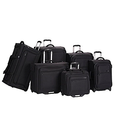 Delsey Helium Superlite Black Luggage Collection