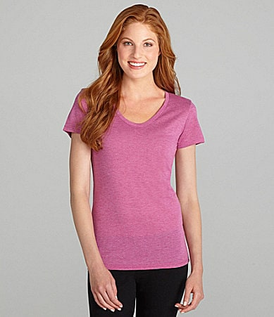 Jasmine & Ginger Short Sleeve Scoop Neck Tee