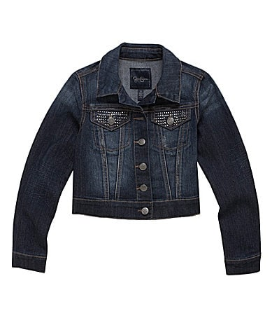 Jessica Simpson Tweenwear 7-16 Pixie Denim Jacket
