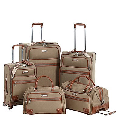 Cremieux Classic Tan Luggage Collection