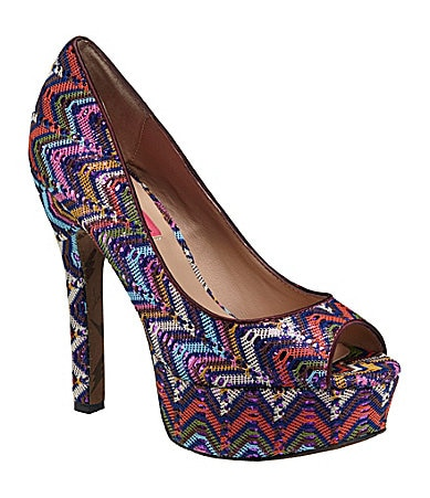 Betsey Johnson Sashh Platform Sandals