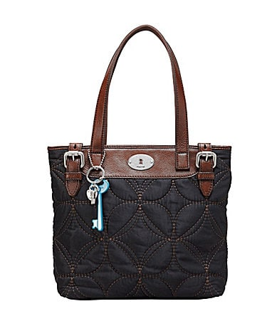 Fossil Key-per Quilted Shopper Bag