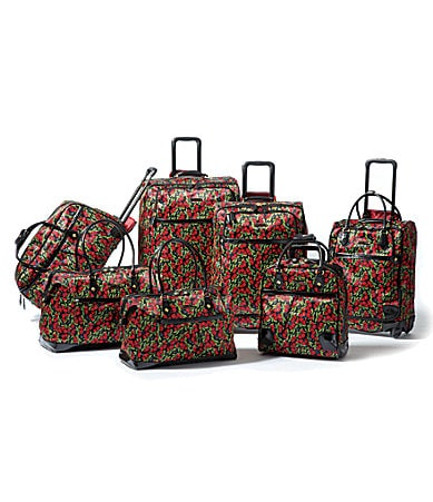 Betsey Johnson Punk Cherry Luggage Collection