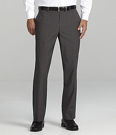 Perry Ellis Slim Prince of Wales Pants