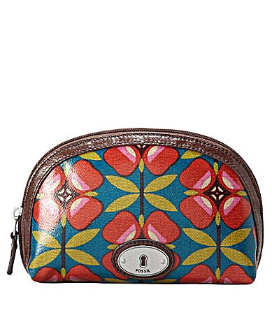 Fossil Key-Per Small Dome Cosmetic Bag