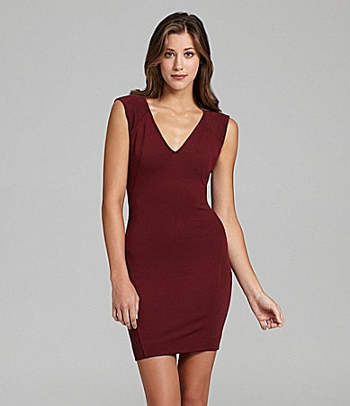 French Connection Rita Mix Jersey Dress