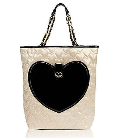 Betsey Johnson Mine & Yours North-South Tote