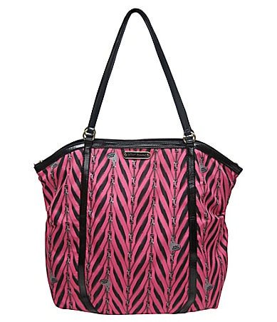 Betsey Johnson Zip it Up North-South Tote