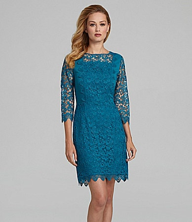 Antonio Melani Kinga Floral Lace Dress
