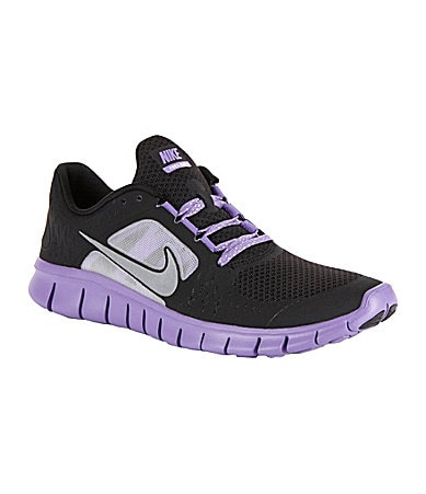 Nike Girls Free Run 3 Running Shoes
