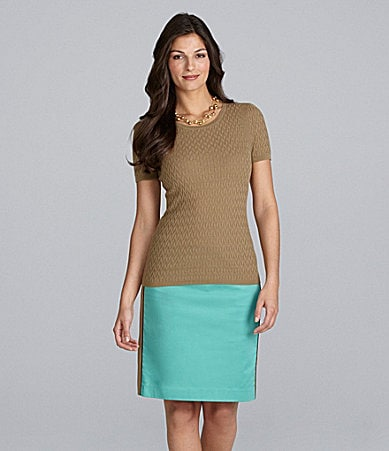Alex Marie Mia Knit Top & Holly Sateen Skirt