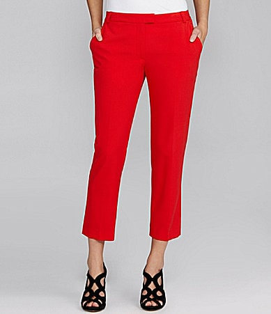 Gianni Bini Thelina Colored Cropped Pants