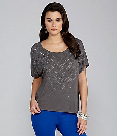 Gianni Bini Kitra Embellished Knit Top