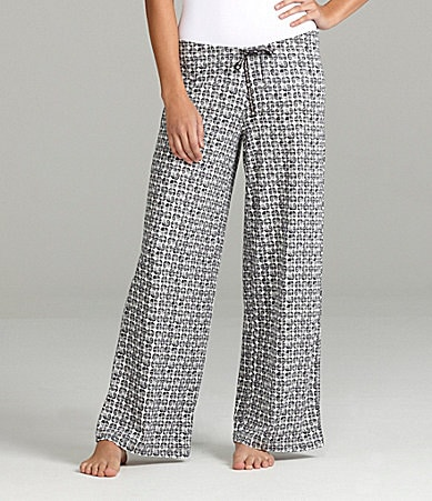 HUEtopia Geo Print Sleep Pants