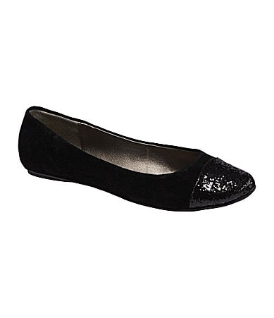 Kenneth Cole Reaction Slipified Cap-Toe Flats