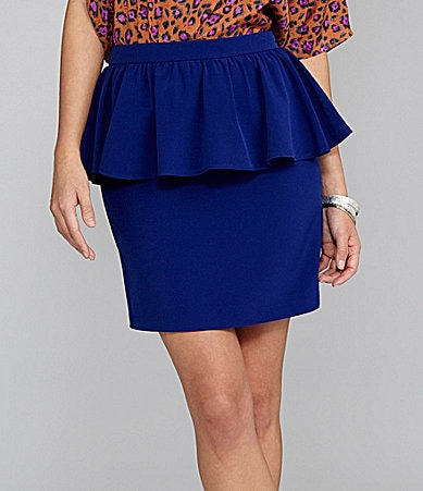 Gianni Bini Kitty Peplum Skirt