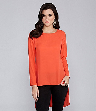 Gianni Bini Sam Hi-Low Blouse