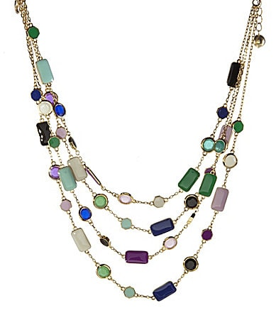 kate spade new york Pop Palette Illusion Statement Necklace