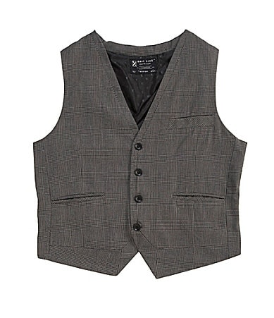 Marc Ecko Cut & Sew Plaid Vest