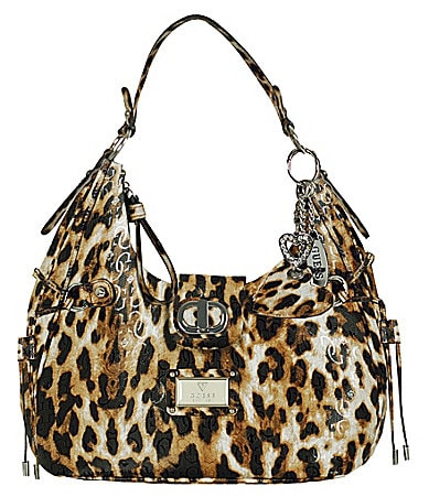 Guess Veracruz Cheetah Hobo