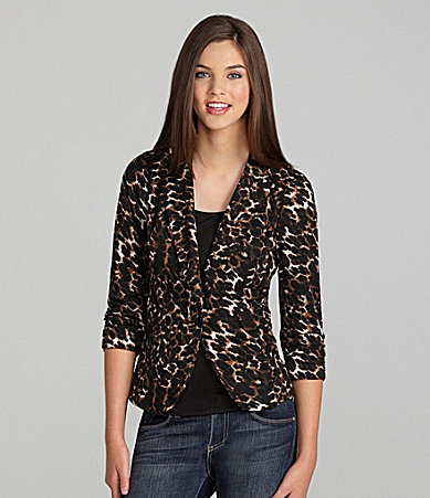 Stoosh Animal Print Blazer