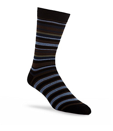 K. Bell Colorblock Striped Socks