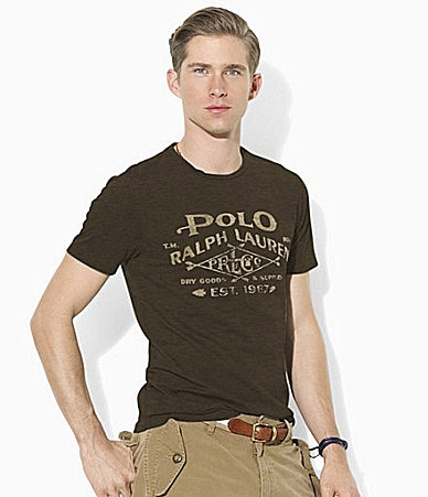 Polo Ralph Lauren Classic-Fit Short-Sleeved Cotton Jersey Crewneck T-Shirt