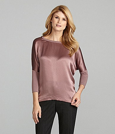 Antonio Melani Pippa Mixed-Media Knit Top