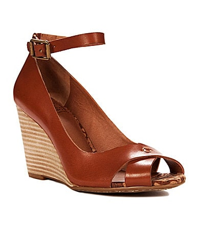 Lucky Brand Gable Ankle-Strap Wedges