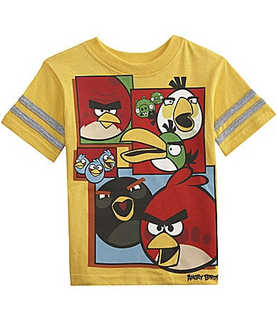 AME 2T-7 Angry Birds Screenprint Tee