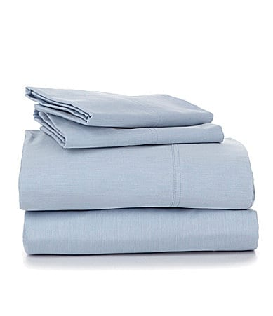 Cremieux 270-Thread-Count Percale Solid Sheet Set