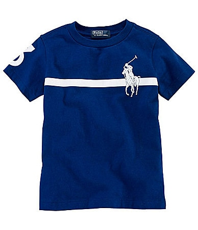 Ralph Lauren Childrenswear 2T-7 Big Pony Tee