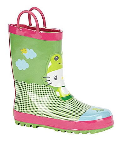 Western Chief Hello Kitty Froggy Rain Boots
