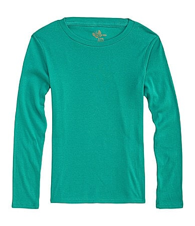Copper Key 7-16 Long-Sleeve Crew Neck Tee