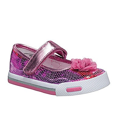 Stride Rite Girls Jenna Sequin Sneakers