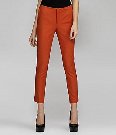 Vince Camuto Angle-Pocket Colored Skinny Pants