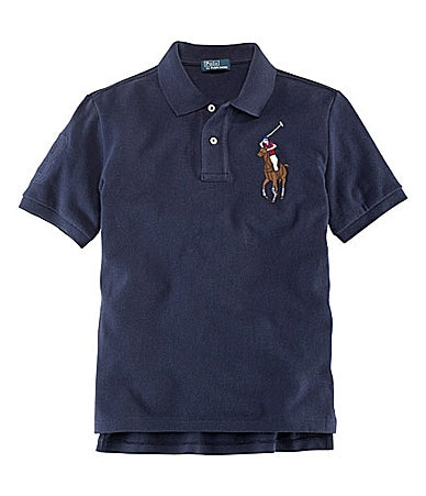 Ralph Lauren Childrenswear 8-20 Big Pony Polo Shirt