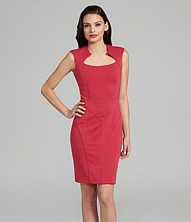 Vince Camuto Ponte Triangle Dress