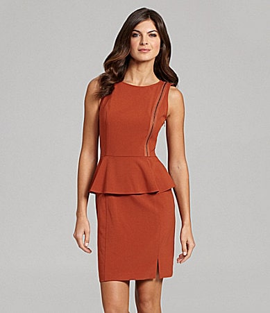 Marc New York Sleeveless Peplum Dress