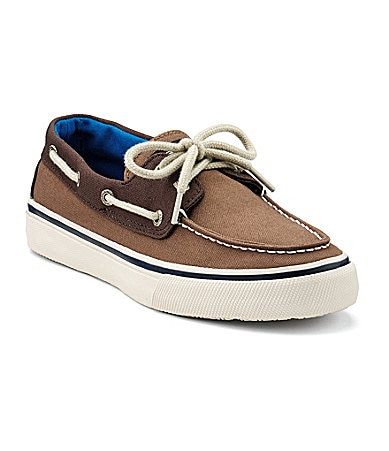 Sperry Top-Sider Mens Bahama 2-Eye Canvas Boat Shoes