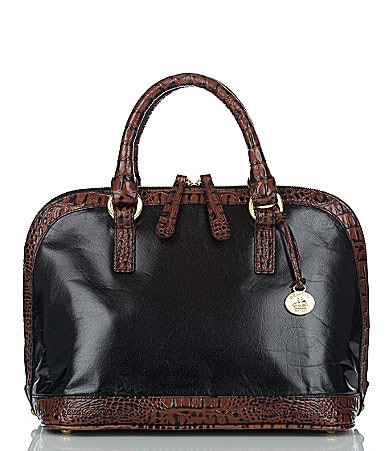 Brahmin Tuscan Collection Vivian Dome Satchel Bag