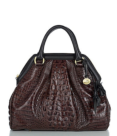 Brahmin Melbourne Collection Sara Rose Satchel Bag