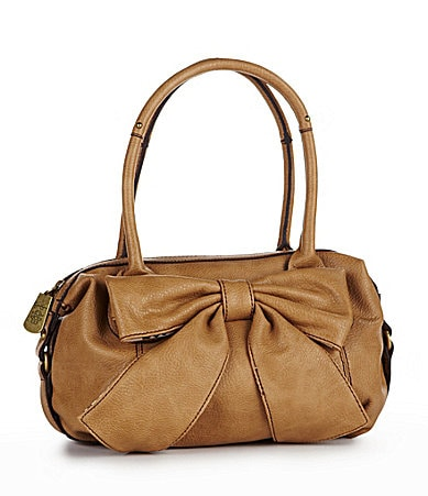 Jessica Simpson Bow Chic Satchel Bag