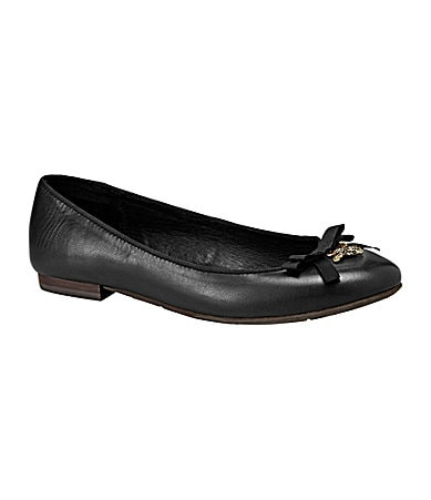 Fossil Sassy Leather Flats