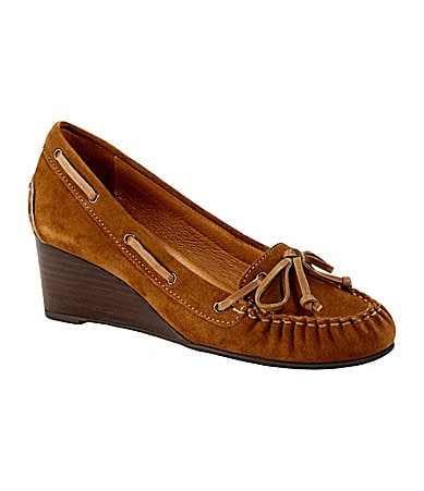 Nurture Dover Loafer Wedges